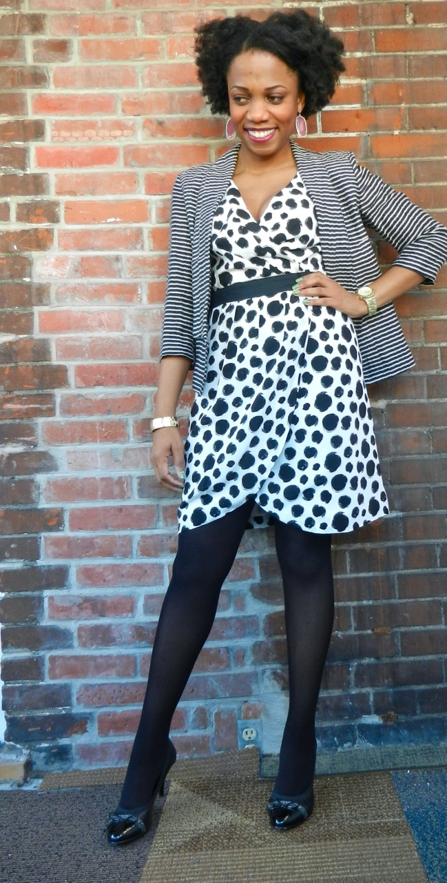 Fashion Thesaurus Polka Dot Dress Economy Of Style