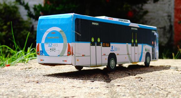 Devido às fortes chuvas, Em Miniatura fecha mês de Junho com queda na produção de miniaturas de ônibus e micro
