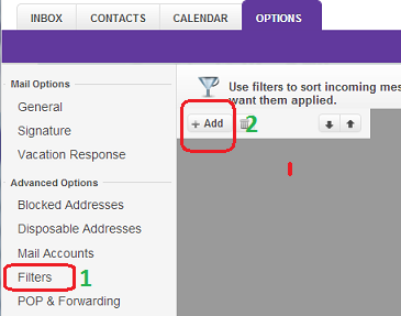 Move Specific Email into Folder automatically In Yahoo Mail