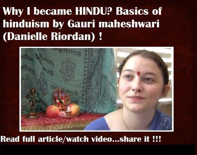 Why I became Hindu