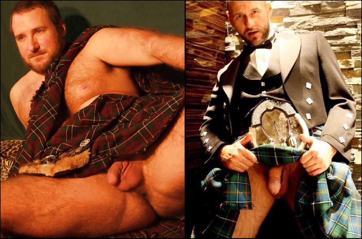 Men in kilts uncensored