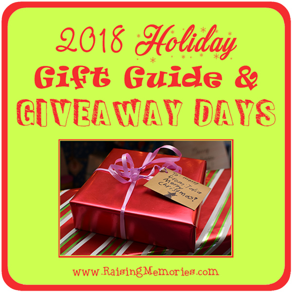Raising Memories Holiday Gift Guide Giveaways 2018