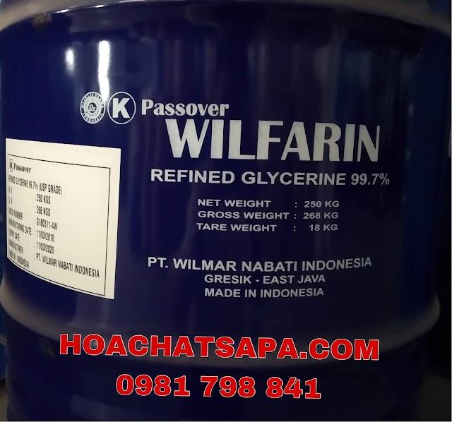 GLYCERINE WILFARIN USP 99.7%