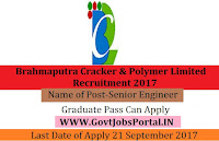 Brahmaputra Cracker and Polymer Limited Recruitment 2017– 14 Senior Engineer