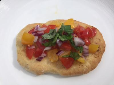 Bruschetta Flatbread