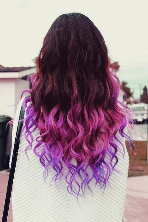 Good Morning Angel Dip Dye Hair Inspiration
