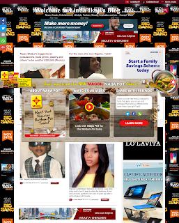 Tampilan Baru Blog Linda Ikeji