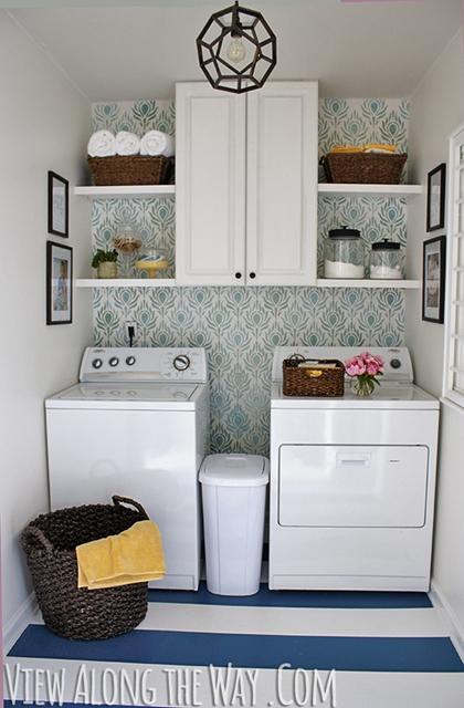 lavanderia reformada