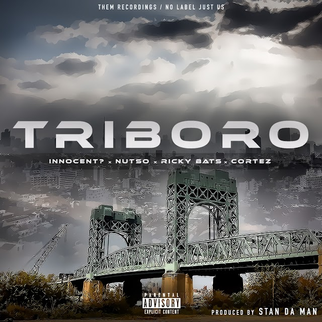 """Watch """"TRIBORO"""" music video by Innocent? & Nutso feat. Ricky Bats & Cortez"""