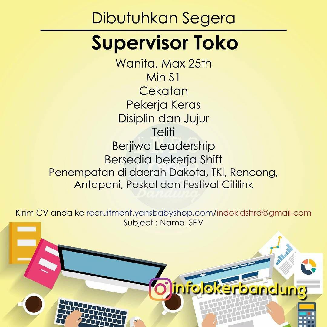 Lowongan Kerja Yens Baby and Kids Shop & IndoKids Bandung November 2017