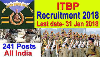 ITBP Recruitment 2018-Head constable & Constable Jobs