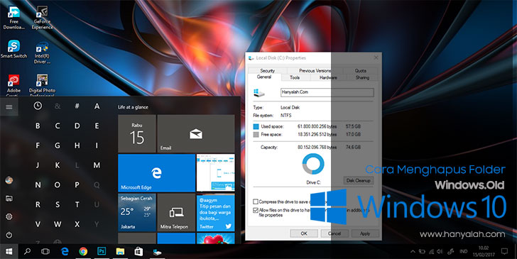 Cara Menghapus Folder Windows.Old di Windows 10