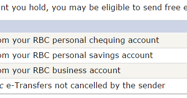 how to receive interac e transfer rbc