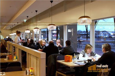 Thế Giới Đèn Gỗ - Những mẫu đèn trang trí quán cafe tuyệt đẹp 14