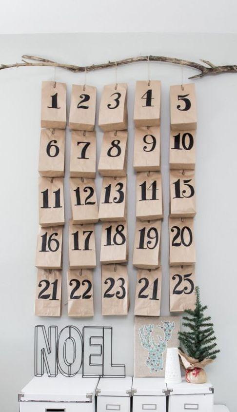 Scandinavian Advent Calendars and Inspiration for 24 Calendar Gifts