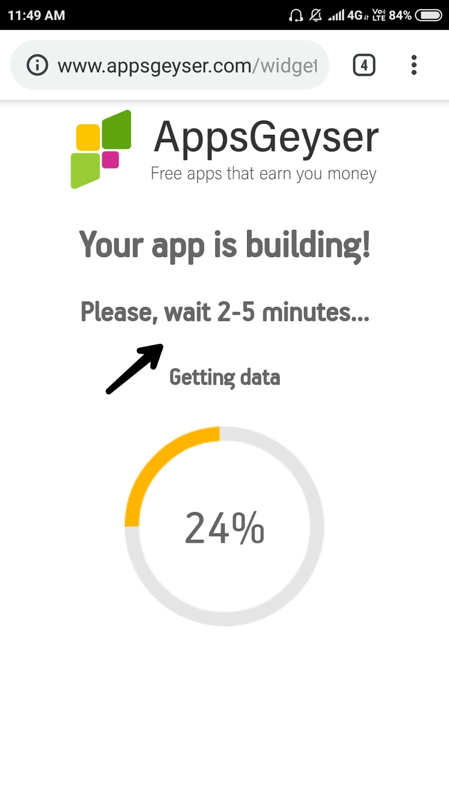 Appsgeyser pe free account aur android app kaise banaye?