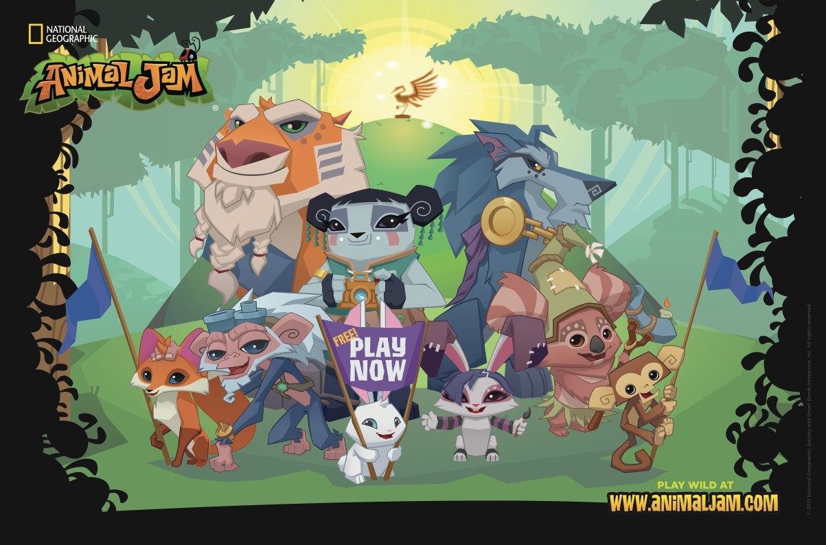 How to keep the children busy - Animal Jam review - Steph's Two Girls