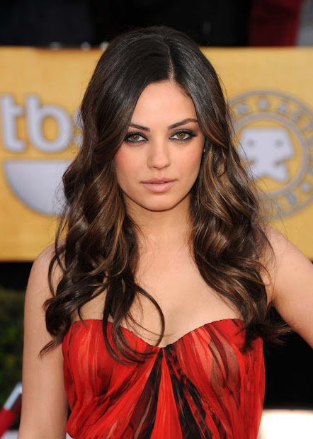Mila Kunis Hair Color