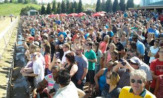 Remington Park, crowd, community