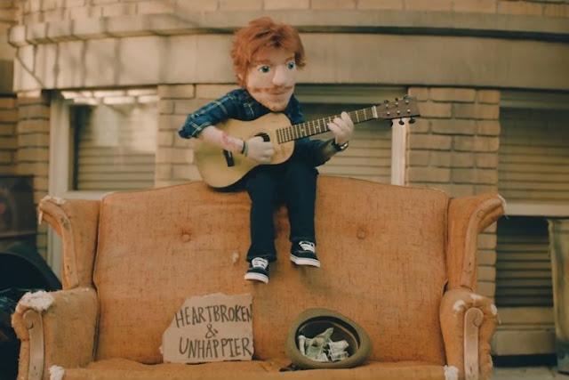 "Ed Sheeran Unveils ""Happier"" Music Video"