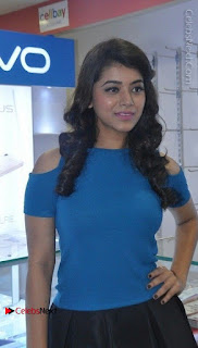 Telugu Actress Yamini Bhaskar Latest Pos in Blue Top and Black Skirt  0004.jpg