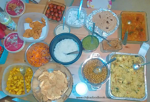 Potluck recipes Indian vegetarian