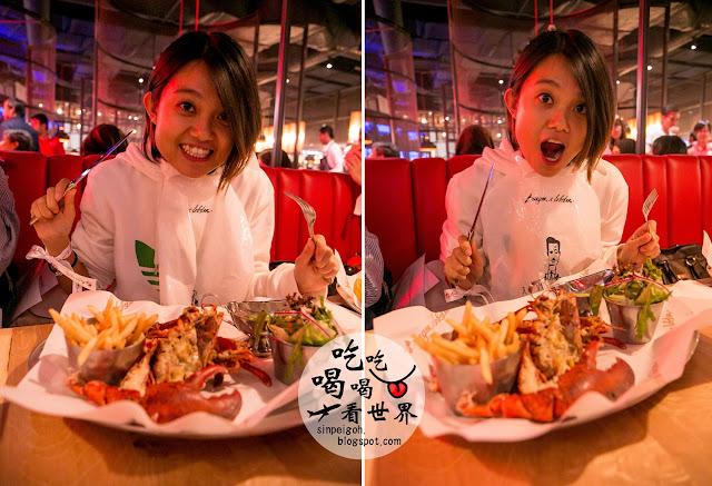 genting burger & lobster