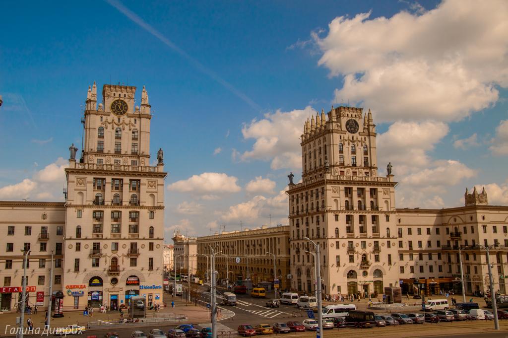 Ворота города Минск фото