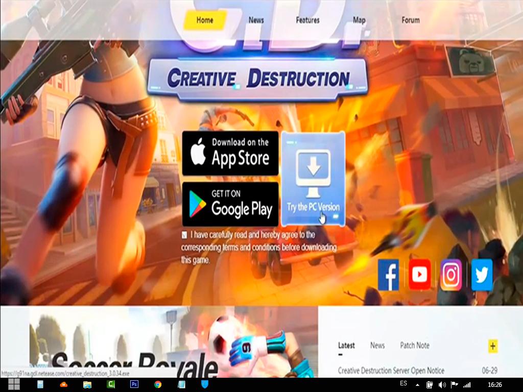 creative destruction pc