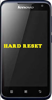 Hard Reset Android Lenovo A526