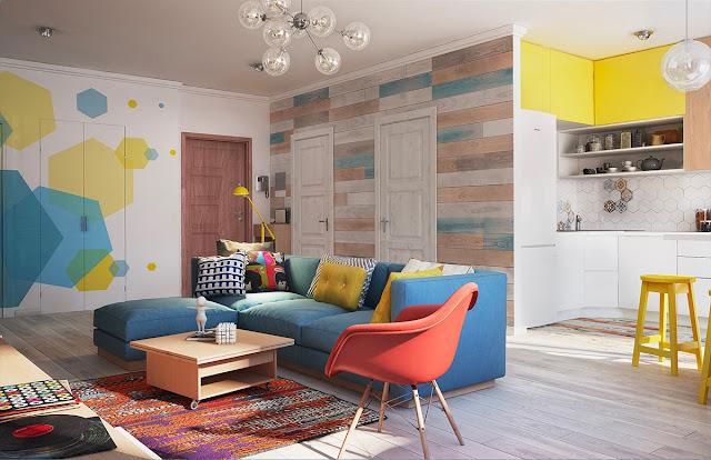 10 Desain Interior Rumah Kecil