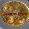 Sopa de shiitake con sabor a mar