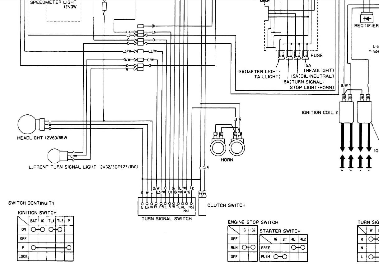 2007 honda shadow 750 wiring diagram