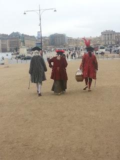 maschere a Versailles