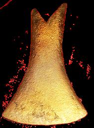 Gambar Kapak corong atau Kapak sepatu zaman logam