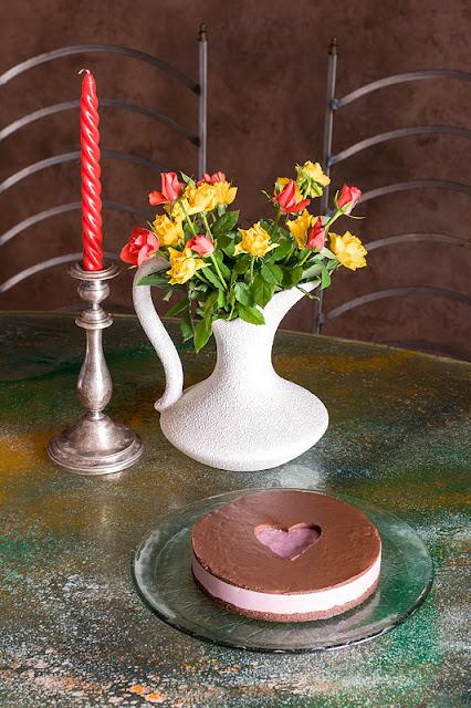Presna višnjevo čokoladna tortica