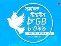 GP 8GB data at Tk. 399 Offer