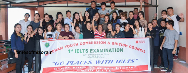 MIZORAM YOUTH COMMISSION LEH BRITISH COUNCIL