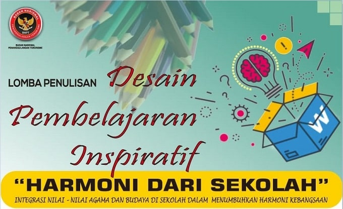 Lomba Penulisan Desain Pembelajaran Inspiratif BNPT 2019