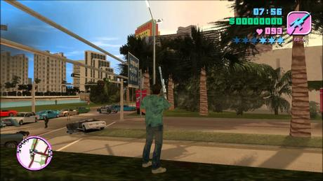 GTA Vice City PC Gameplay Max Settings High Display Graphics Texture