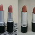 Lipstick Dupe Alert: MAC Velvet Teddy vs Revlon Matte in Mauve It Over