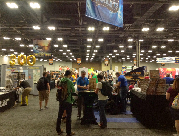 My Origins 2016, Or How I Spent Three Days Demoing Games in the Exhibit Hall