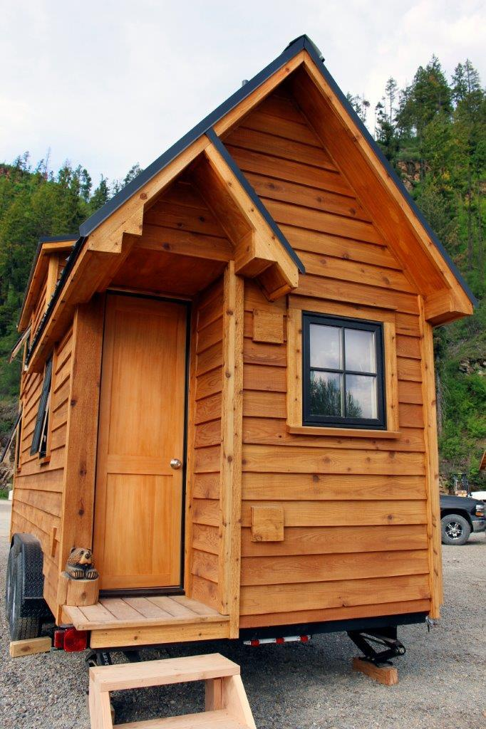 TINY HOUSE TOWN Sandpoint Tiny Home 200 Sq Ft