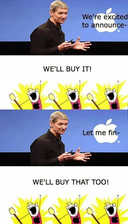 Brand Apple Jokes, Cartoon