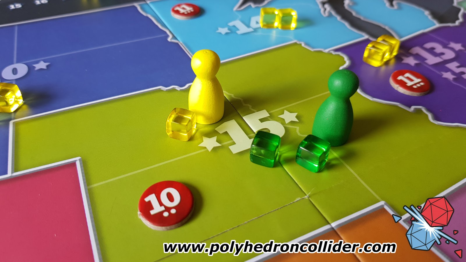The Primary Board Game Review - In Play