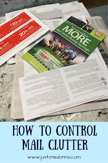 How to control mail clutter in seven steps.