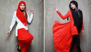 Baju Muslim Gaya Vintage Karya Desainer Indonesia