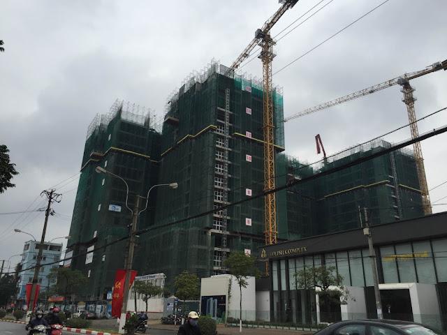 Tiến độ xây dựng Goldsilk Complex