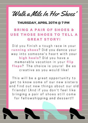 Walk a Mile in Her Shoes party Invitation