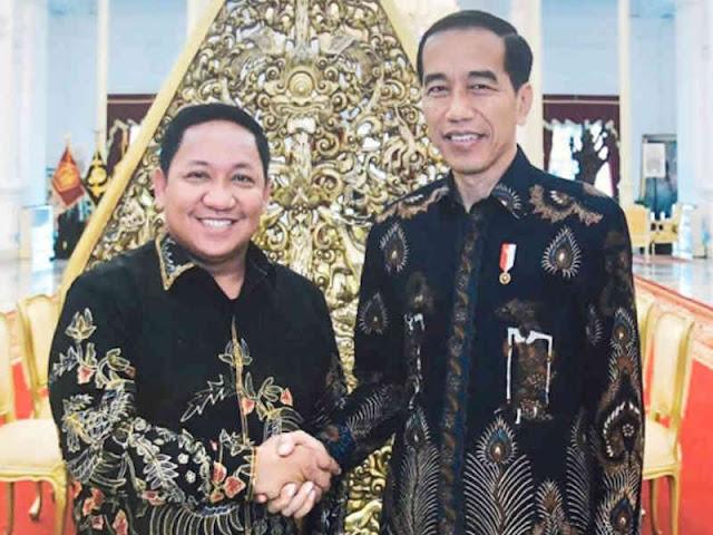 Aliong Mus Sampaikan Usulan Pembangunan di Maluku Utara ke Jokowi